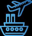 Transport maritime et aérien